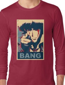 Cowboy Bebop - Bang - Spike Spiegel Long Sleeve T-Shirt