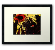War Doctor Framed Print