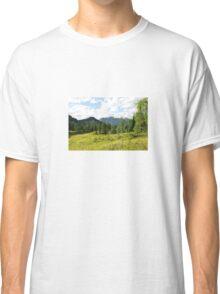 Scenery on Sella di Rioda Classic T-Shirt