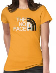 The No Face Womens Fitted T-Shirt