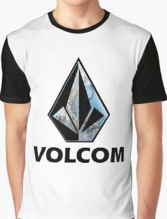 VOLCOM logo Graphic T-Shirt
