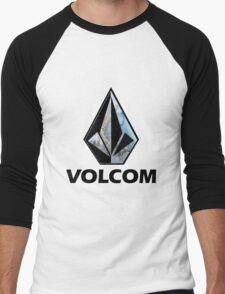 VOLCOM logo Men's Baseball ¾ T-Shirt