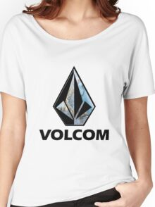 VOLCOM logo Women's Relaxed Fit T-Shirt