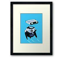 Happy H.E.R.B.I.E. Framed Print