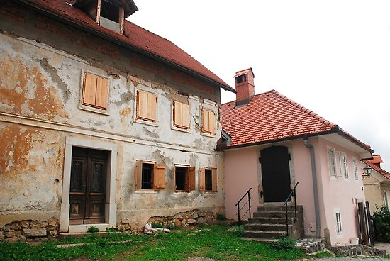 Historic Buildings in Skofja Loka by jojobob