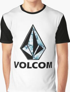 VOLCOM logo Graphic T-Shirt