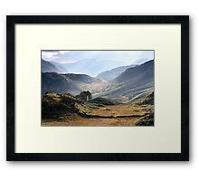 Castle Crag View Framed Print