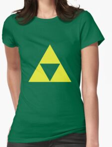 triforce Womens Fitted T-Shirt