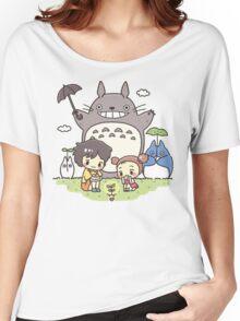 My Neighbor Totoro studio Ghibli Women's Relaxed Fit T-Shirt