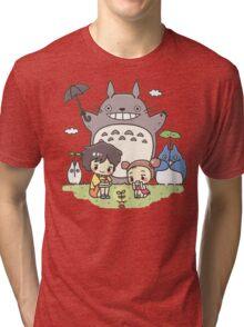 My Neighbor Totoro studio Ghibli Tri-blend T-Shirt