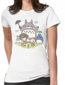 My Neighbor Totoro studio Ghibli Womens Fitted T-Shirt