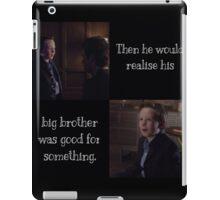 Alec and Max iPad Case/Skin