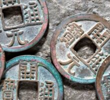 Tang Dynasty Coins Sticker