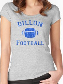 Dillon Football Women's Fitted Scoop T-Shirt
