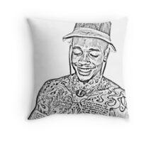 Dizzy Wright Throw Pillow