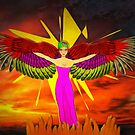 The Winged Goddess by Dennis Melling