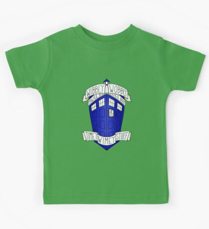 Doctor Who - TARDIS Kids Tee