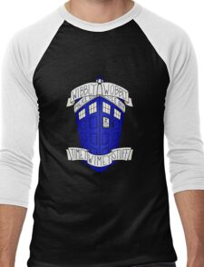 Doctor Who - TARDIS Men's Baseball ¾ T-Shirt