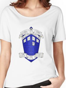 Doctor Who - TARDIS Women's Relaxed Fit T-Shirt