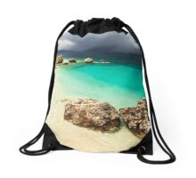 Fight of Shadow and Light - Travel Photography Drawstring Bag