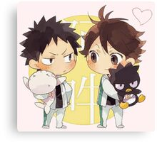 Chibi 2 Haikyuu!! Anime Canvas Print