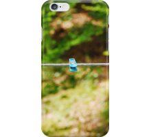 Plastic Pegs on Line iPhone Case/Skin