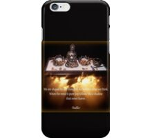 Budda Altar iPhone Case/Skin