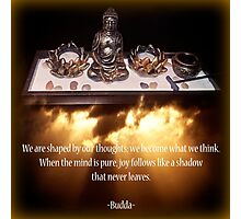 Budda Altar Photographic Print