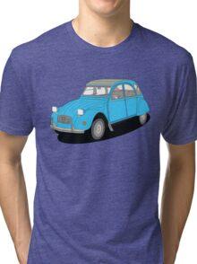 2cv blue Tri-blend T-Shirt