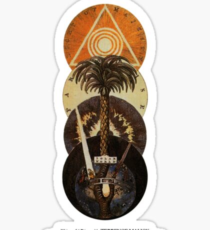 Knight Of Cups Poster Sticker