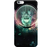 Wire Skull- Full Landscape iPhone Case/Skin