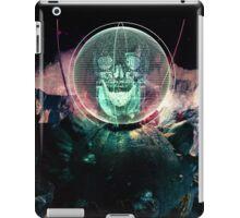 Wire Skull- Full Landscape iPad Case/Skin