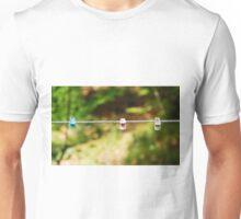 Plastic Pegs on Line Unisex T-Shirt
