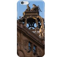 Rooftop Chariots and Horses - The Hippodrome Casino Leicester Square, London, UK iPhone Case/Skin