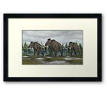 Woolly Mammoth Framed Print