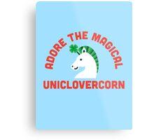 Adore the Magical Uniclovercorn Metal Print