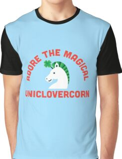 Adore the Magical Uniclovercorn Graphic T-Shirt
