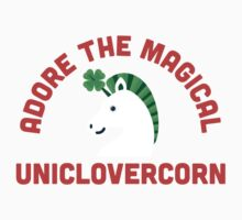 Adore the Magical Uniclovercorn Kids Tee