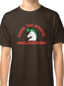 Adore the Magical Uniclovercorn Classic T-Shirt