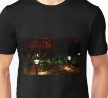 Garden Solar Lights in the Dark Unisex T-Shirt