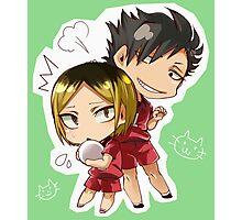 Chibi 4 Haikyuu!! Anime Photographic Print