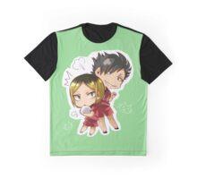 Chibi 4 Haikyuu!! Anime Graphic T-Shirt