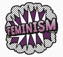 Feminism Pop Art Statement Feminist Baby Tee