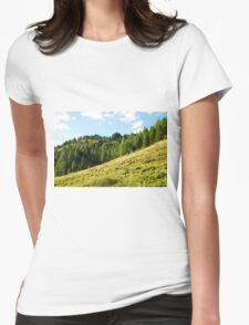 Scenery on Sella di Rioda Womens Fitted T-Shirt