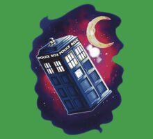 My Doctor Who Of The Moon Kids Tee
