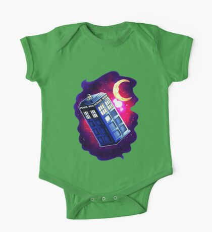 My Doctor Who Of The Moon One Piece - Short Sleeve