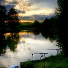 Tranquillity at Sunset by David  Rowlatt