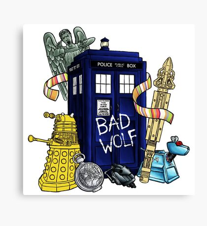My Doctor Who Canvas Print