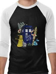 My Doctor Who Men's Baseball ¾ T-Shirt