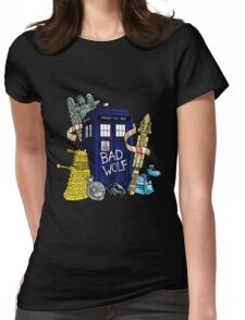 My Doctor Who Womens Fitted T-Shirt